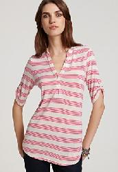 Ella Moss Striped Tunic